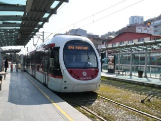 Trip Intervals on Tram in Samsun Reduced to 5 Minutes