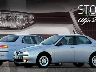 স্টোরি আলফা রোমিও ওয়েব সিরিজ 156 মডেলের সাথে চালিয়ে যাচ্ছে