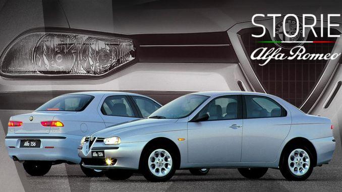 Веб-серия Storie Alfa Romeo продолжает модель 156