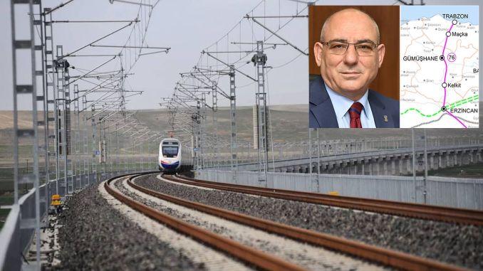 TESOB Başkanı Kara: Erzincan Trabzon Demiryolu Projesi'nin İhale Tarihini Bekliyoruz