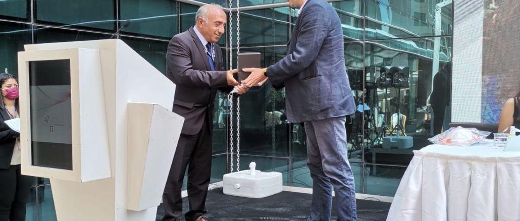 TMMOB'dan Haydarpaşa Dayanışması Adına BTS Genel Başkanı Bektaş'a Ödül