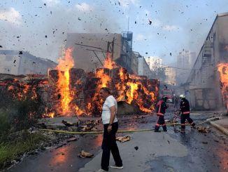 Factory Fire bill of 500 million TL in Turkey Overtakes