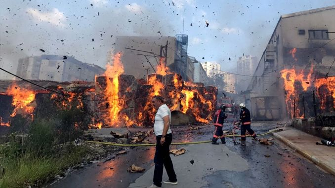 Factory Fire bill of 500 million TL in Turkey Overtakes