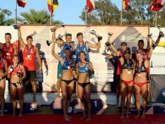 U-22 European Beach Volleyball Championship slutter
