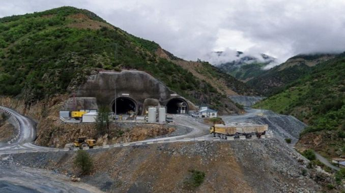 New Zigana Tunnel will be the longest in Europe