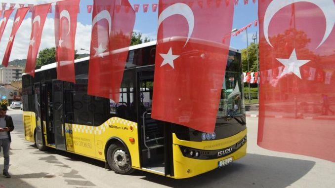 Afyonkarahisar-openbaar-vervoer-voertuigen-accountcode-applicatie-begint