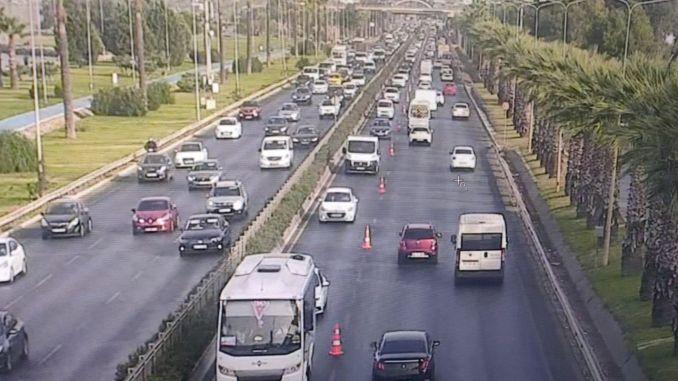 Additional Lane in Altınyol and Gradual Work in Konak ... Traffic Breathes in İzmir