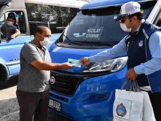 Ondersteunt Ankara Metropolitan Minibus Tradesmen