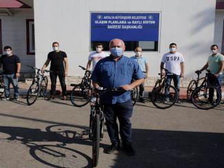 Fietsroutes in Antalya worden naar behoefte gepland met behulp van de fiets