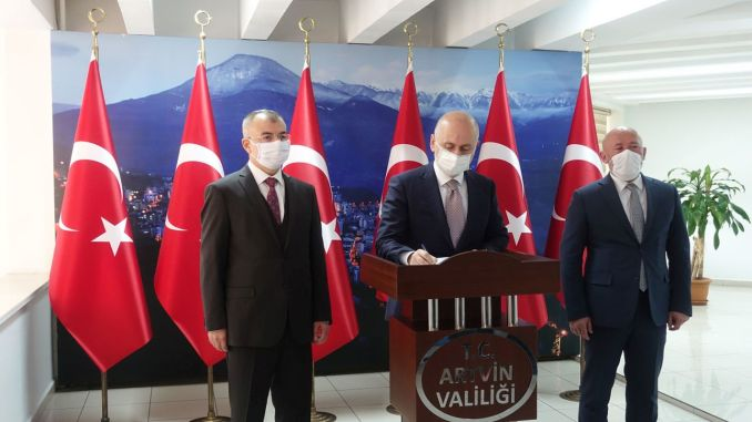 8 Billion 639 Million Lira Investments Made in Artvin
