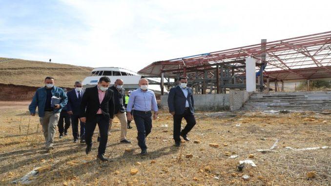 Inactief skicentrum Güneykaya wordt omgebouwd tot attractiecentrum