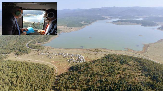 Міністр Ерсой досліджував район гірського туризму Болу Кероглу