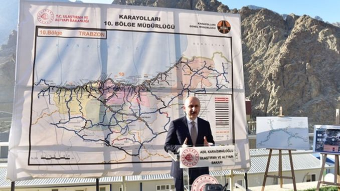 Minister Karaismailoğlu Examined Transportation Investments in Artvin