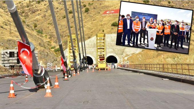 Министр сообщает хорошие новости! Новый мост Кёмюрхан откроется 15 декабря