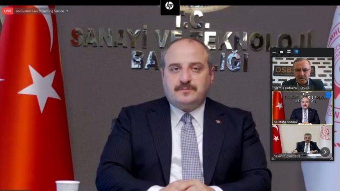 President Küpeli conveyed the demands of the OIZ to the Minister Varank