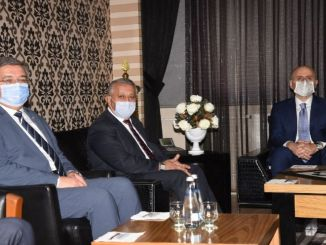 Mayor Zeybek gave information to Minister Karaismailoğlu about AFRAY Project
