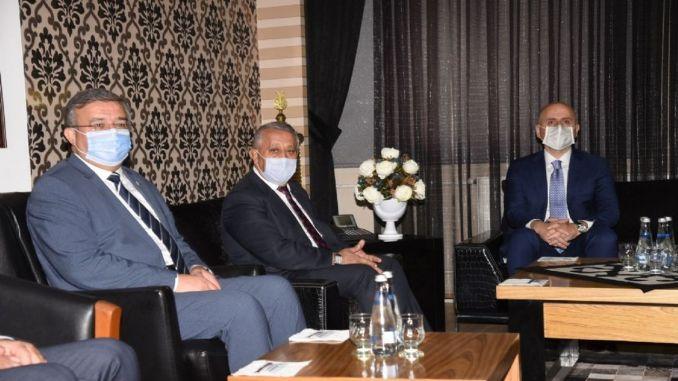 Mayor Zeybek gave information to Minister Karaismailoğlu about AFRAY Project