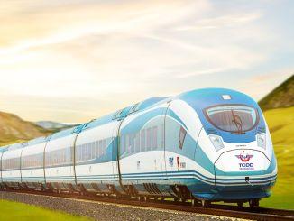 Mensen van Bursa konden de snelle trein niet krijgen, waarvan de basis 8 jaar geleden werd gelegd