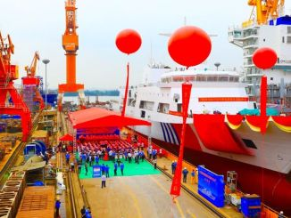China's Largest Patrol Ship, Haixun 09, Launched