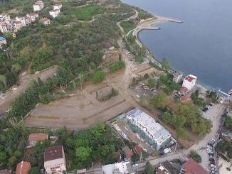 Нова парковка в пляжному парку Даріка