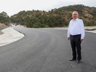 Wegprobleem van skicentrum Denizli gedaan