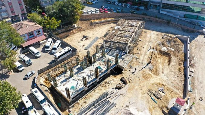 Elazig Mini Terminal Building Construction Rises