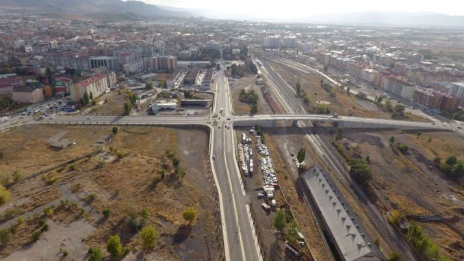 New Roads Opened in Erzurum Breathe the Traffic of the City