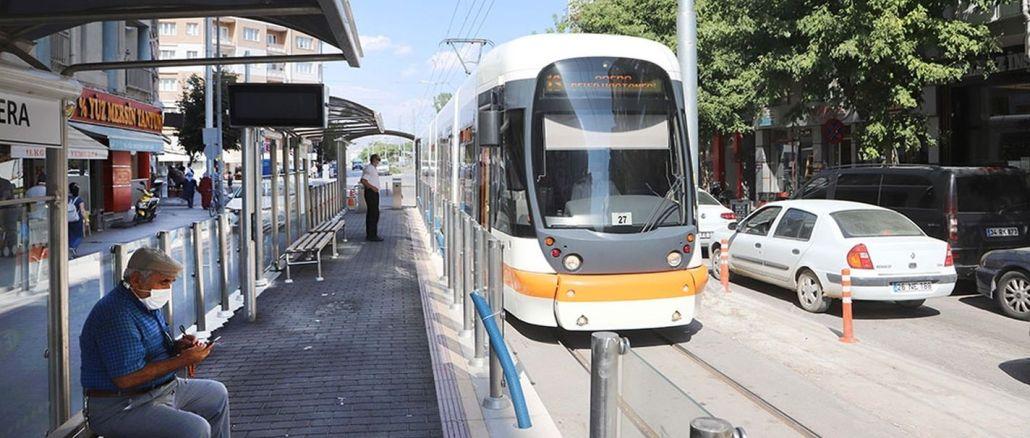 Gebühren für öffentliche Verkehrsmittel in Eskişehir erhöht