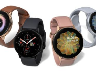 Software-update voor Galaxy Watch Active2 uitgebracht