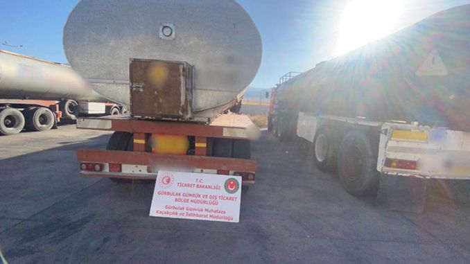 591 Tons of Smuggled Fuel Operation from Customs Enforcement Teams