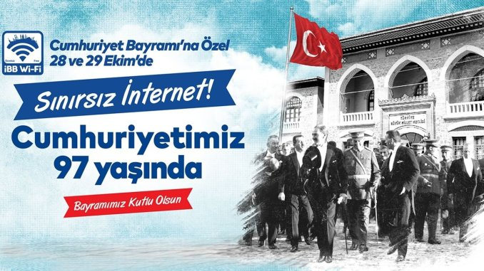Ubegrænset internet fra IMM på Republikkens dag