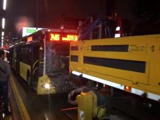 Metrobus Accident in Merter: 7 People Injured