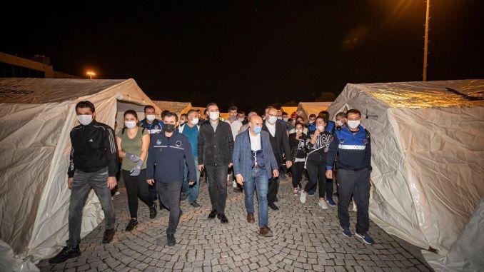 Tình hình hiện tại của trận động đất Izmir 24 Mất mạng, 804 người bị thương