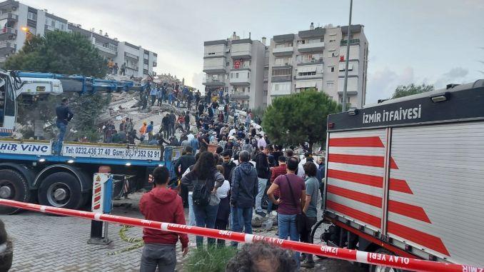 Последнее объявление AFAD после землетрясения в Измире