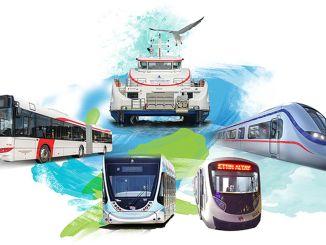 Обществен транспорт 29 Kuruş на 1 октомври в Измир