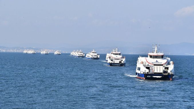 Der Seetransport steigt in Izmir