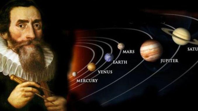 Wie is Johannes Kepler?
