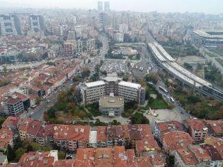 Kadıköy Het gemeentelijk gebouw wordt gesloopt en er komt groen