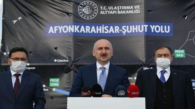 Karaismailoğlu Investigates Afyon Şuhut Construction Site and Historical Kırkgöz Bridge