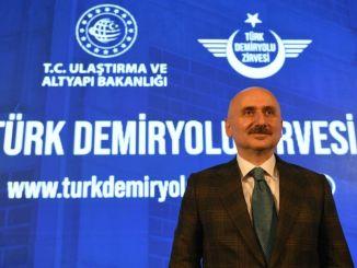 Karaismailoğlu: 'Ons doel bij spoorwegen is 80 procent van de plaats'