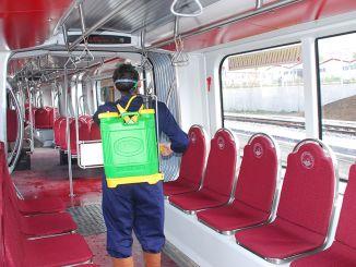Voertuigen van openbaar vervoer in Kayseri 35 duizend 721 keer gedesinfecteerd