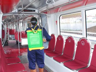 Public Transport Vehicles in Kayseri Disinfected 35 Thousand 721 Times