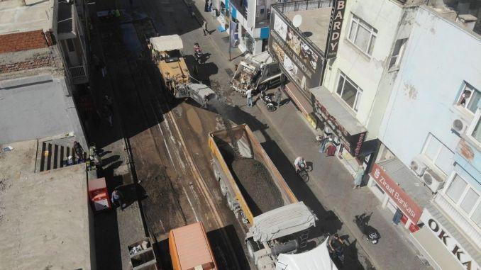 İzmir'in En Yoğun Trafiğe Sahip Yollarından Kemalpaşa Caddesi Yenileniyor