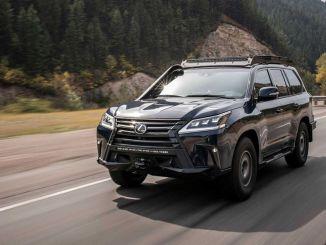 Lexus neemt deel aan 10-daagse rally met Extreme SUV Concept en vrouwelijke piloten