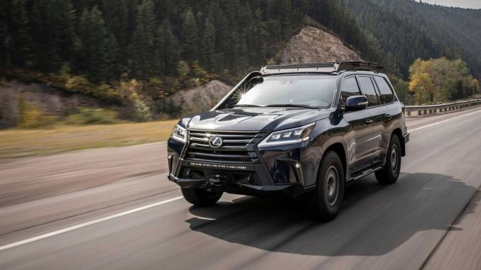 Lexus Joins 10-Day Rally with Extreme SUV Concept and Female Pilots