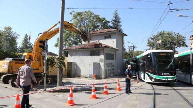 Transformator, der eine Gefahr in Mehmet Ali Pasha verursacht, wurde zerstört