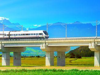 Vysokorýchlostná trať Mersin Gaziantep pokrýva celú juhovýchodnú Anatóliu