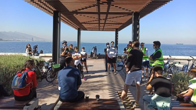 A Route-Coastal Bicycle Trip was Held in Architecture Week