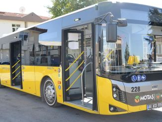 MOTAŞ Buses Are Cleaned Every Evening