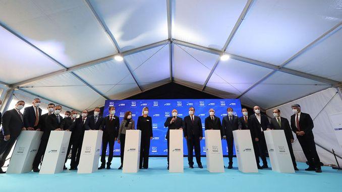 250 millioner Lira-nye fabriksinvesteringer fra Nestle til Bursa
